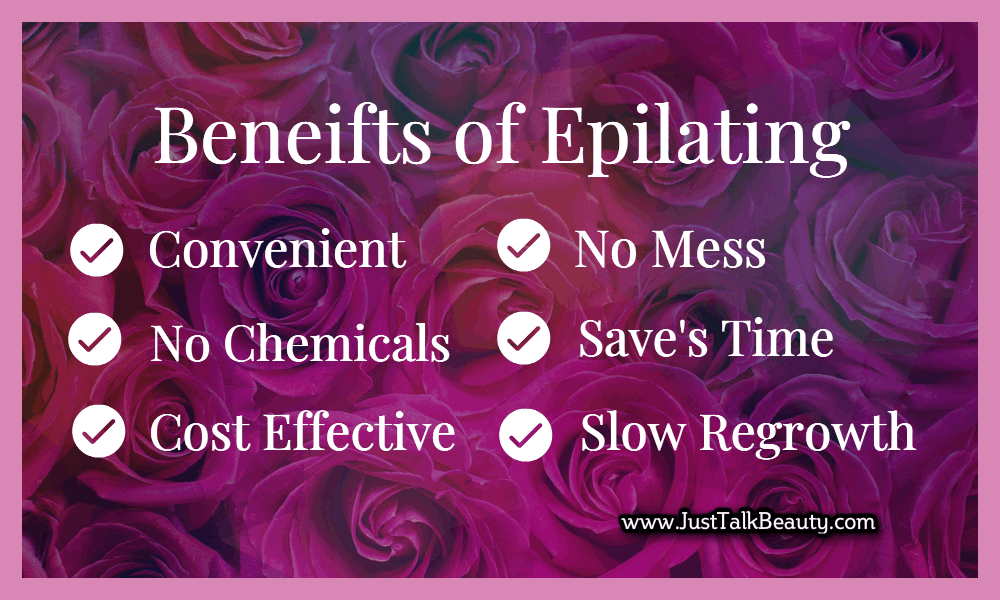benefits of epilating