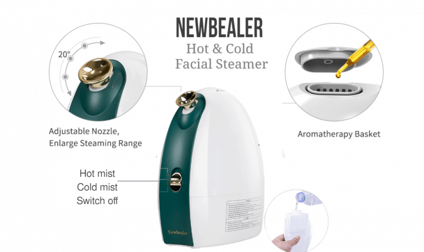 hot and cold face steamer