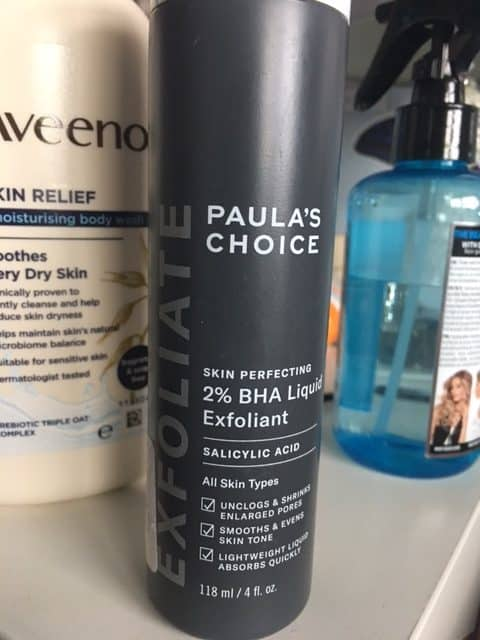 exfoliant to shrink pores